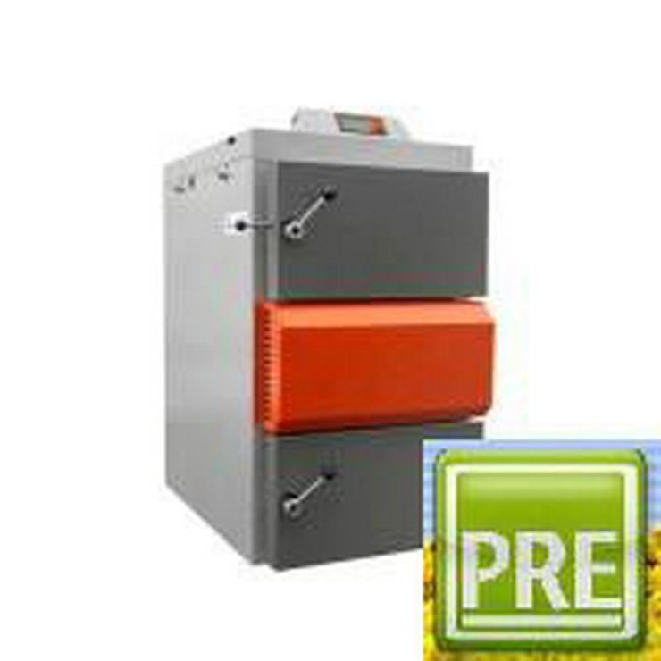 Holzvergaser 40 kW + PRE Pufferspeicher 2500 L