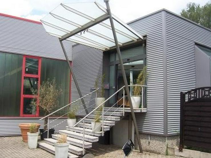 Moderne, helle Halle mit sehr repräsentativem Büro - Gewerbeimmobilie mieten - Bild 1