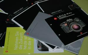 Leica Kamera Prospekte - Digitalkameras (Kompaktkameras) - Bild 1