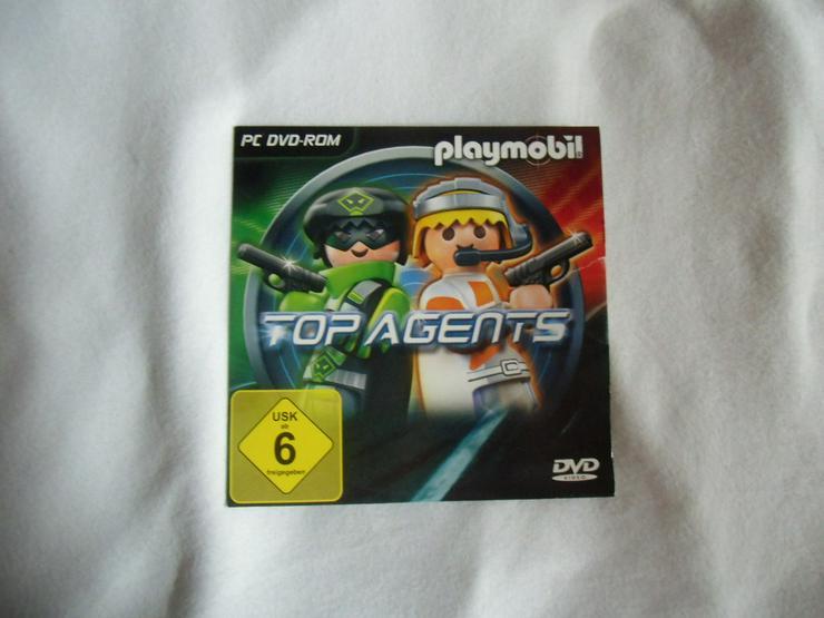 playmobil TOP AGENTS PC DVD-ROM (neu!)