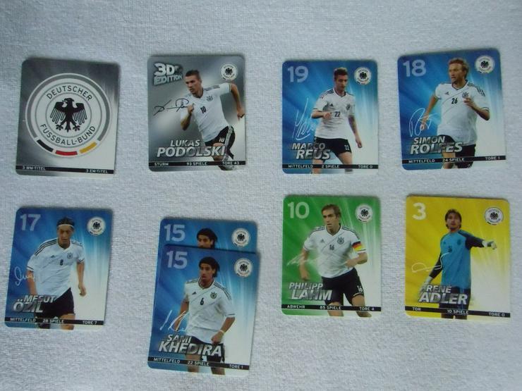 Sammelkarten Fußball EM 2012 (auch zu verschick