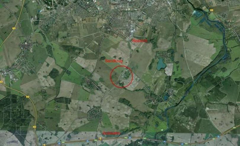 Bild 2: Gewerbegebiet ?Sandkrug? 40.000 qm vor den Toren der Hansestadt Rostock - von Privat