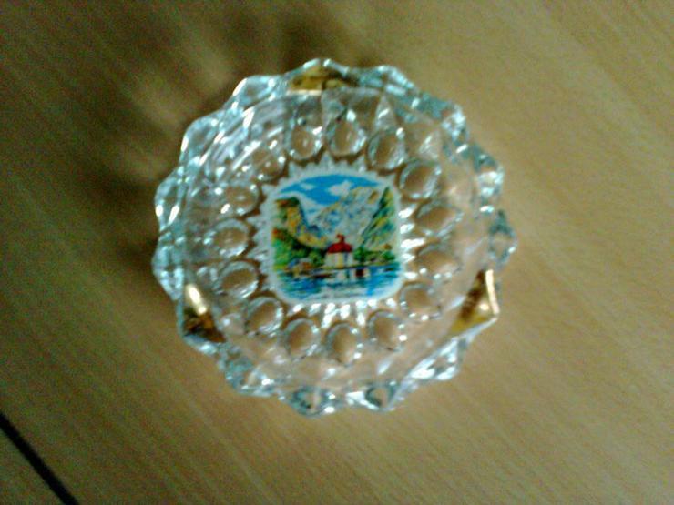 Bild 2: Kleiner Aschenbecher mit Königsseemotiv