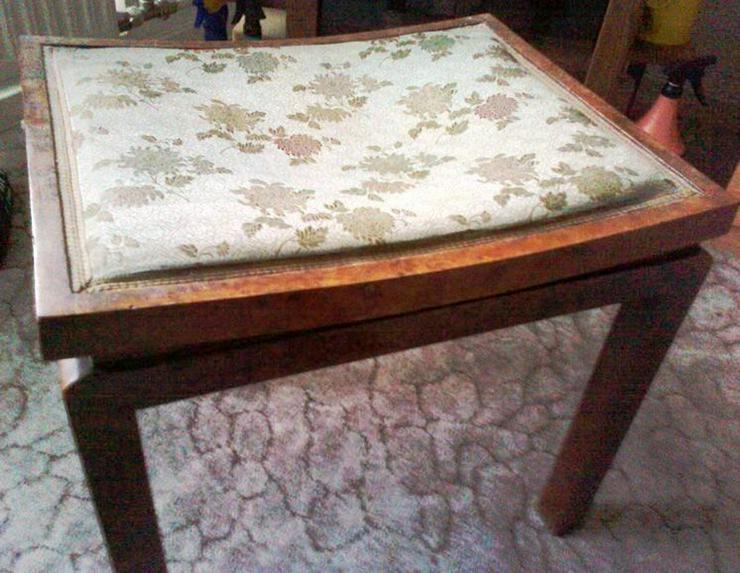 antiker Hocker - Stühle, Bänke & Sitzmöbel - Bild 1