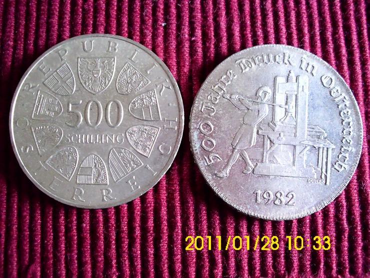 500 Öschi    500 Jahre Druck in Österreich - Europa (kein Euro) - Bild 1