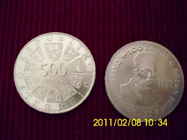 500 Öschi   100 Jahre Österreichisches Rotes Kr - Europa (kein Euro) - Bild 1