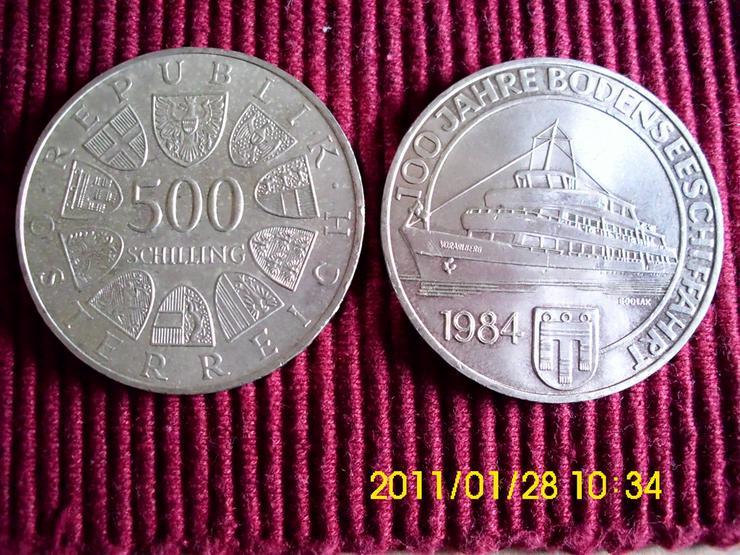 500 Öschi   100 Jahre Bodenseeschiffahrt - Europa (kein Euro) - Bild 1