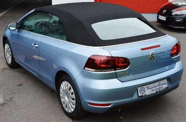 Bild 2: VW Golf VI Cabrio 1,2 TSI, Climatronic, SH, PDC