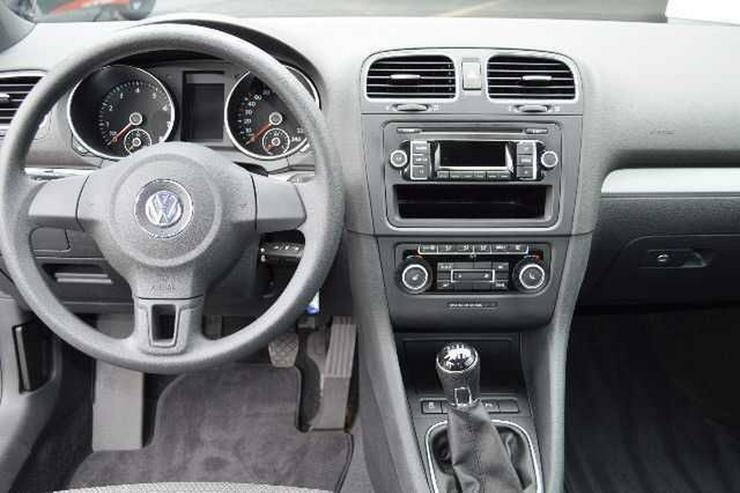 Bild 4: VW Golf VI Cabrio 1,2 TSI, Climatronic, SH, PDC
