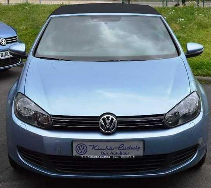 Bild 3: VW Golf VI Cabrio 1,2 TSI, Climatronic, SH, PDC