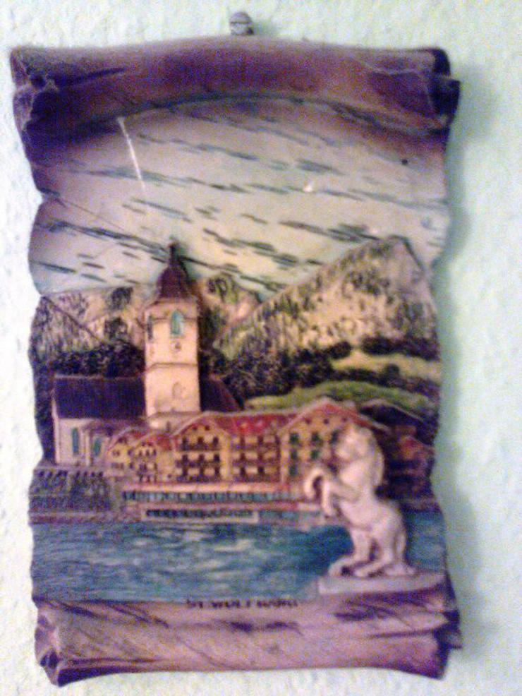 diverse Wandteller, schöne Urlaubserinnerungen