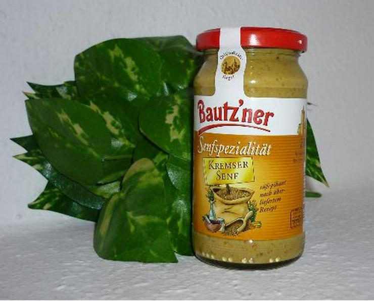 Bautzner Kremser Senf   - süß -