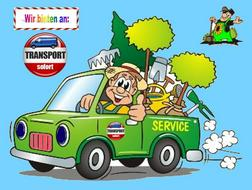 Entsorgung Abtransport Gartenabf�lle - Haushaltshilfe & Reinigung - Bild 1