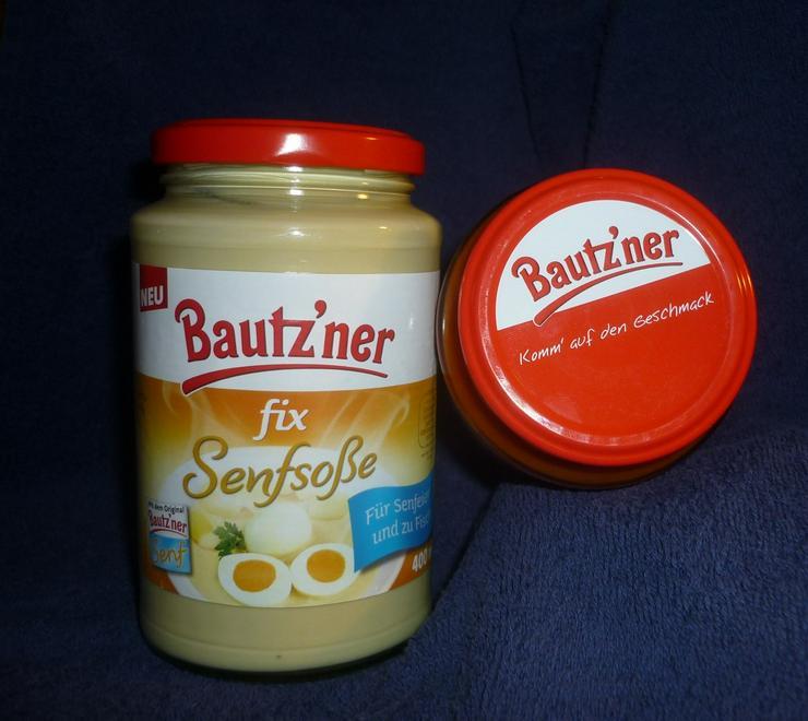 Bautzner Senfsoße fix + fertig für Senfeier