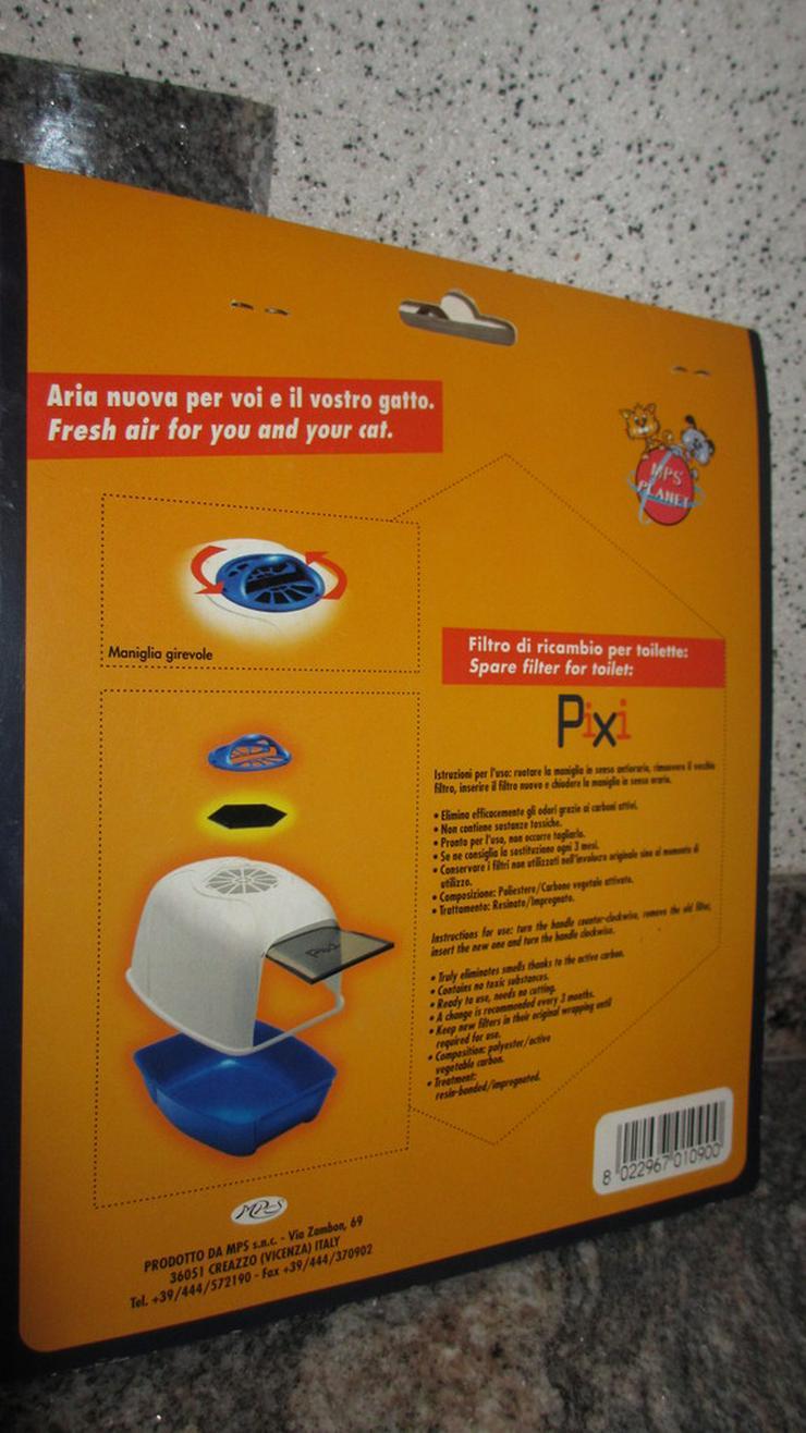 Bild 2: Mehrere Filtern für Katzenklo PIXI