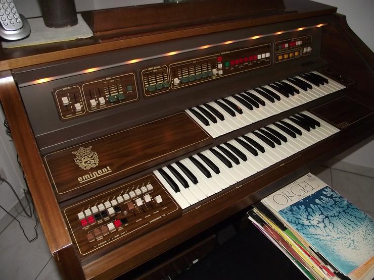 Orgel 'eminent' Solina N155 Zertifikat, Bank