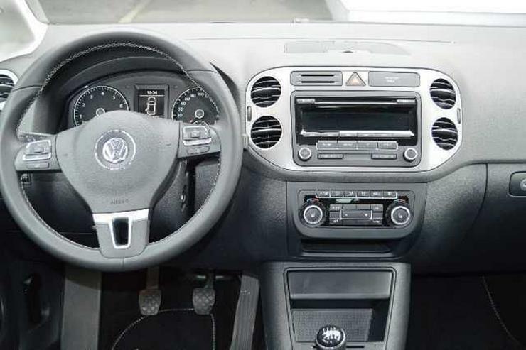 Bild 4: VW Golf Plus 1,4 TSI Match, Teilleder, SH