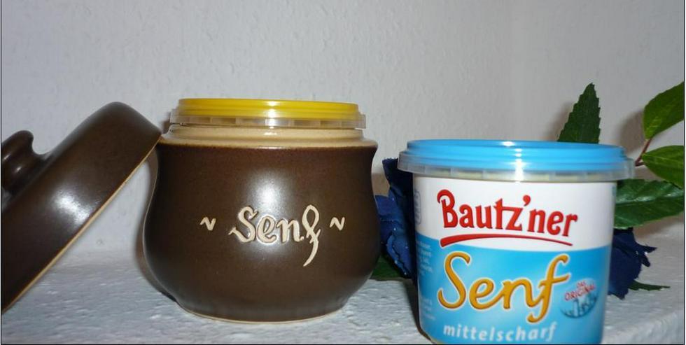 Senf Topf - Senf - incl. Bautzner Becher