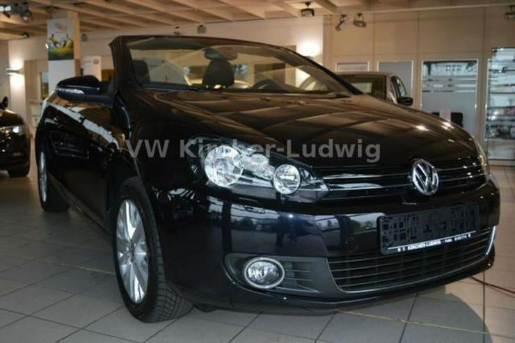 VW Golf Cabrio 1.2 TSI BMT Life, SH, Alu. 16'' - Golf - Bild 1
