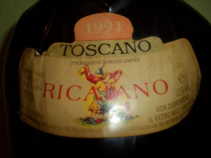 Bild 2: Wein Flasche  80cm.  24 Jahre alt !!!