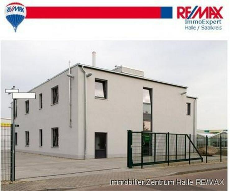 2013 fertiggestelltes Forschungs- und Bürogebäude im Süden von Halle - Gewerbeimmobilie kaufen - Bild 1