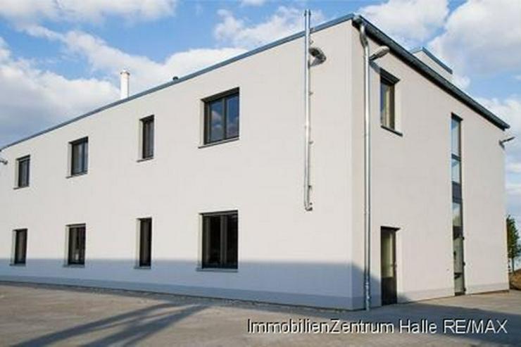 Bild 4: 2013 fertiggestelltes Forschungs- und Bürogebäude im Süden von Halle