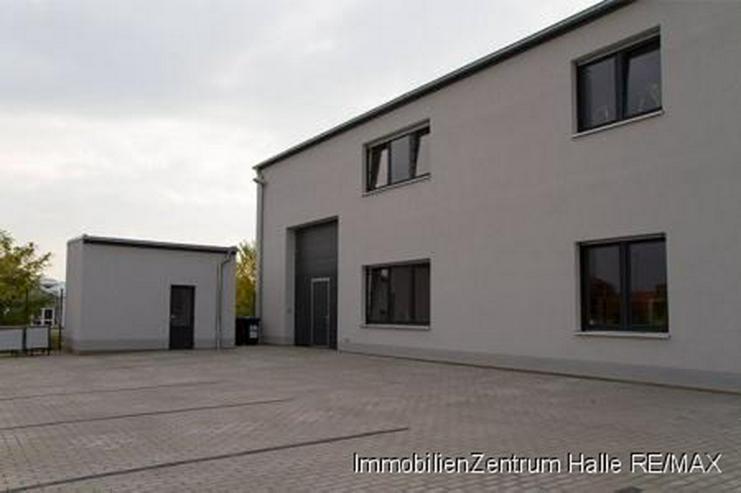 Bild 3: 2013 fertiggestelltes Forschungs- und Bürogebäude im Süden von Halle