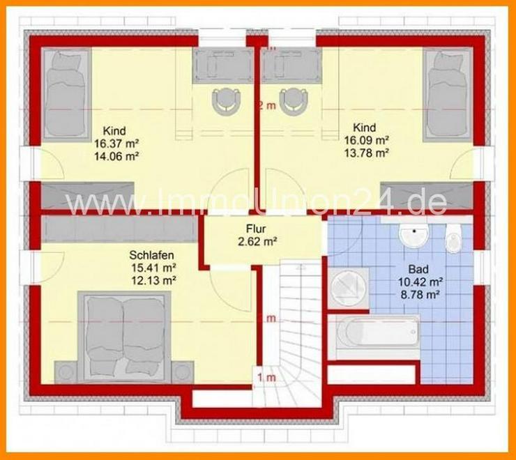 Bild 4: 2 0 9. 9 0 0,- für massives + SCHLÜSSELFERTIGES Haus 1 2 6 qm auf Bodenplatte in HEILIGE...
