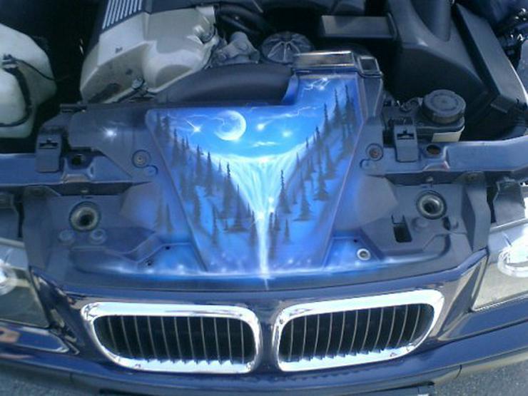 Airbrush auf Fahrzeugen &  Fahrzeugteilen, A