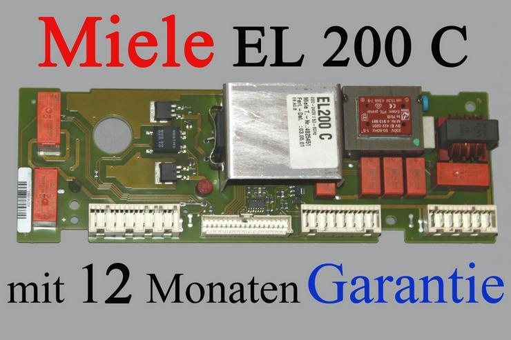 Steuerelektronik Miele EL200C, EL200D Miele