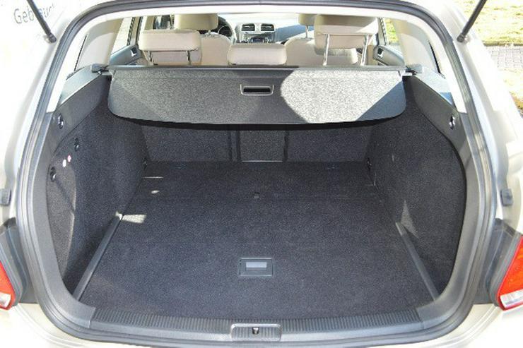Bild 4: VW Golf VI Variant 1,6 TDI Comfortline Klimatronik, SH, Radio CD