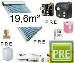 PRE Solaranlage 19 6m� Multispeicher 1500 L - Solarheizung - Bild 1