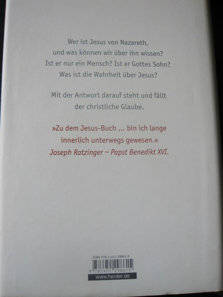 Bild 2: Joseph Ratzinger BENEDIKT XVI JESUS von Nazaret