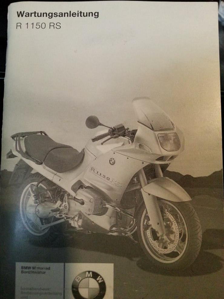 BMW R1150RS Original Wartungsanleitung wie NEU - Weitere - Bild 1