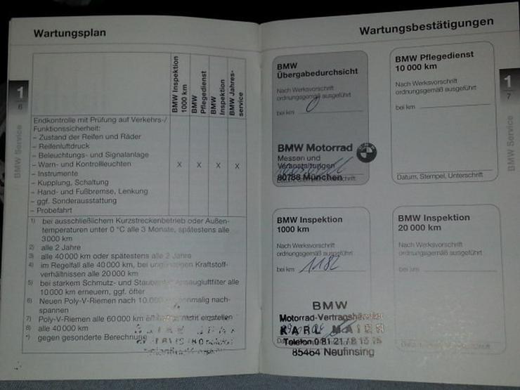 Bild 2: BMW R1150RS Original Wartungsanleitung wie NEU