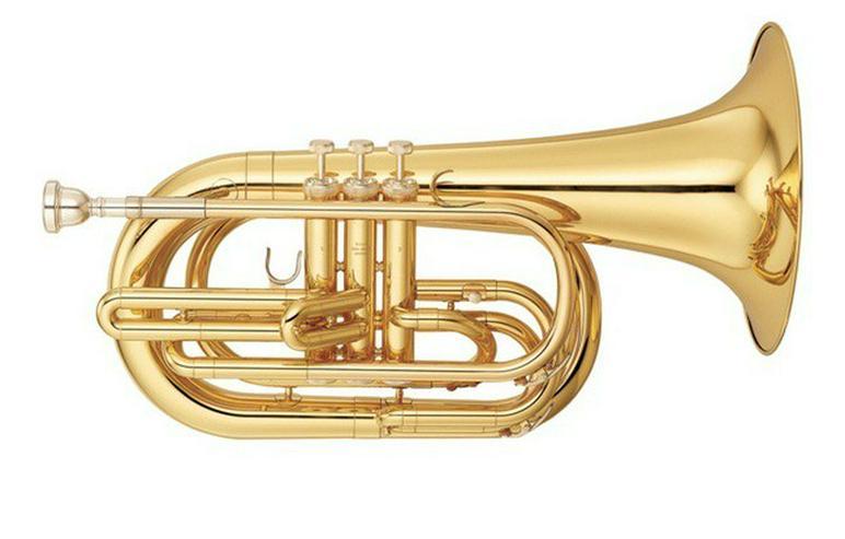 Yamaha Basstrompete in Bb. Neuware inkl. Koffer