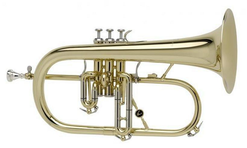 Antoine Courtois Paris B - Flügelhorn, Mod. 155