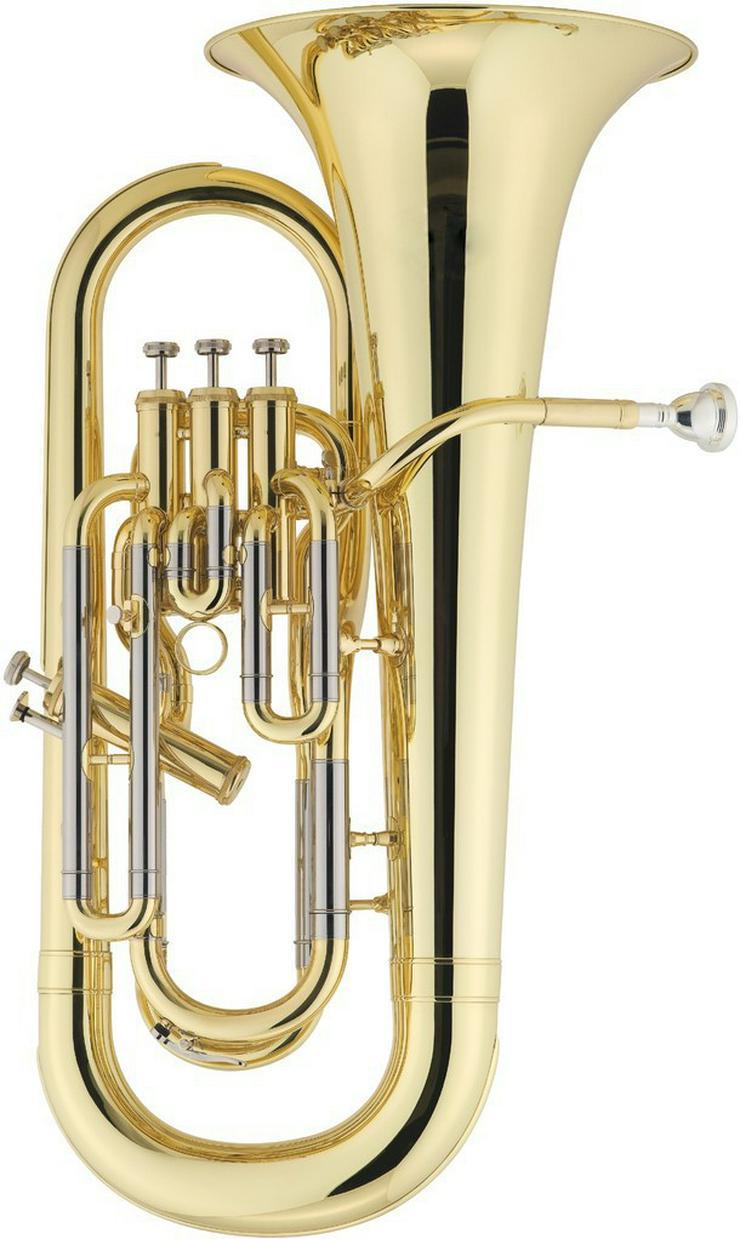 Besson Euphonium in Bb mit 3 + 1 Ventilen. Neu - Blasinstrumente - Bild 1