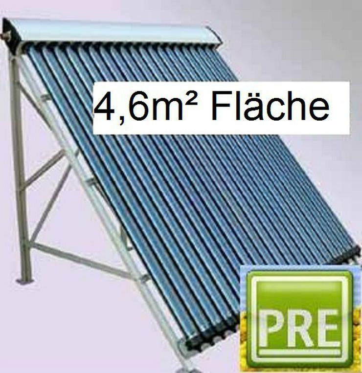 PRE 4,6m² Solaranlage für Flachdach. prehalle  - Solarheizung - Bild 1