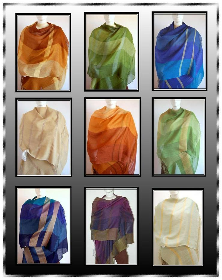 Webschal, Tuch, luftig leicht - Schals & Tücher - Bild 1