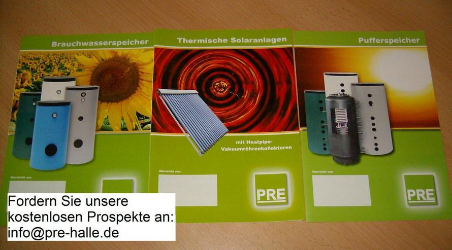 Bild 3: PRE 3,2m² Solaranlage + 200 L Speicher prehalle