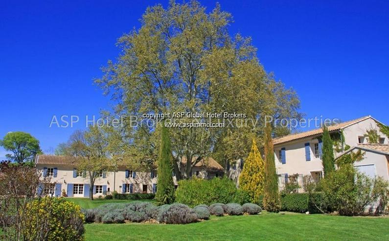 Bild 6: Exclusives romantisches Provence Herrenhaus mit einigen Gästesuiten in der Nähe von Avig...