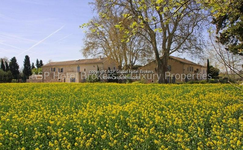 Bild 5: Exclusives romantisches Provence Herrenhaus mit einigen Gästesuiten in der Nähe von Avig...