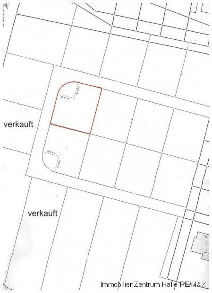 Bild 2: Willkommen in Bennstedt. Ihr Bauplatz wartet schon !