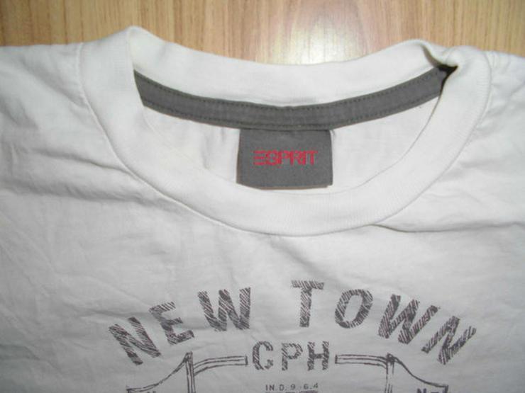 Bild 2: Weißes ESPRIT T-Shirt in Größe S