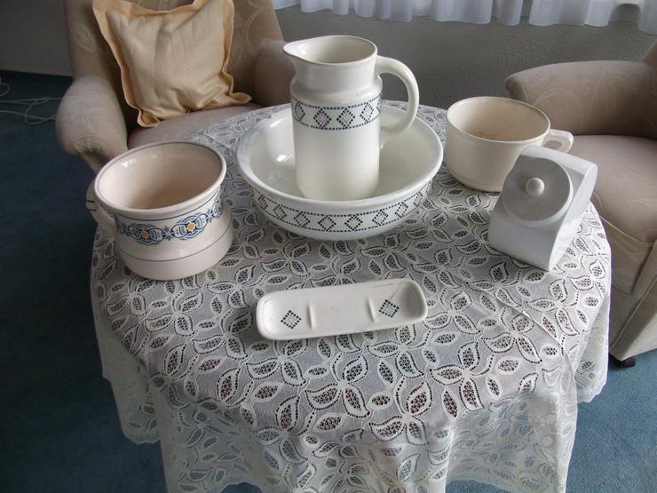 Waschschüssel-Set antik