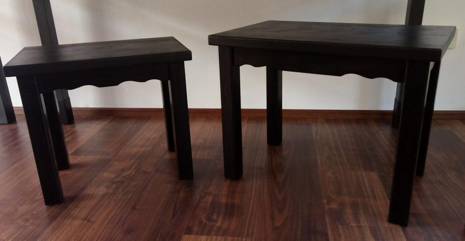 Tisch-Set Design in schwarz, neu