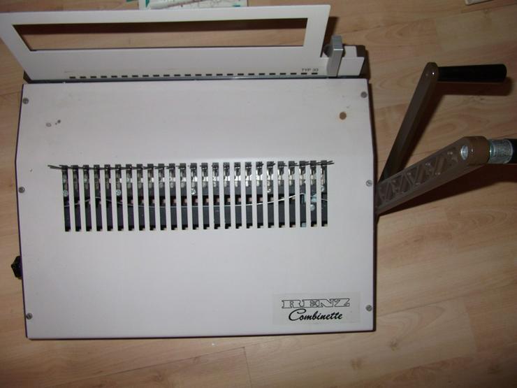 Renz Combinette Stanz- und Bindemaschine