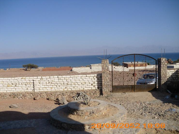 Bild 2: Baugrundstück am Roten Meer