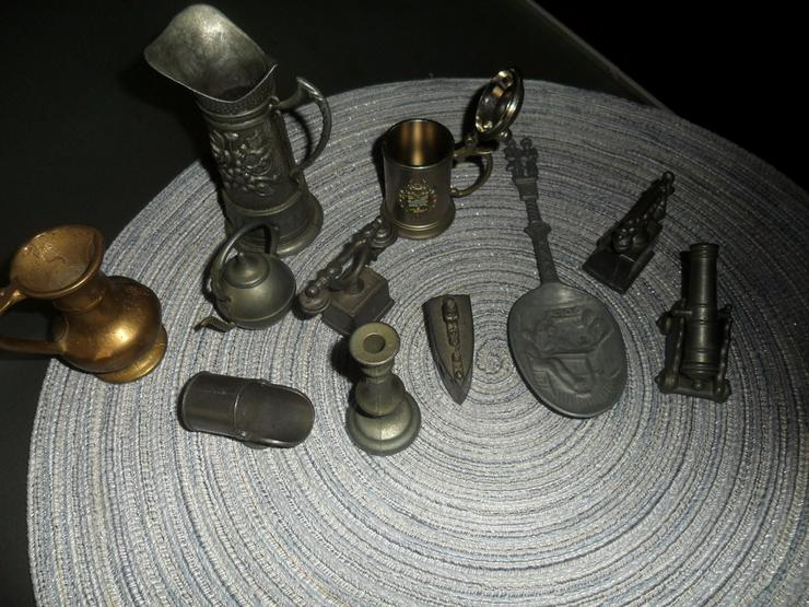 11 Zinn Miniaturen